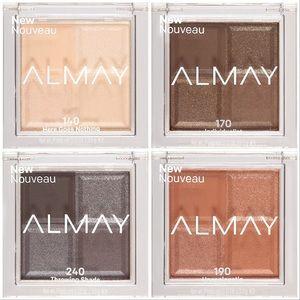 Almay Shadow Squad Eyeshadow Lot Of Four